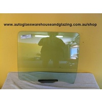 FORD FAIRLANE NF/NL- 3/1995 TO 2/1999 - 4DR SEDAN - PASSENGERS - LEFT SIDE REAR DOOR GLASS