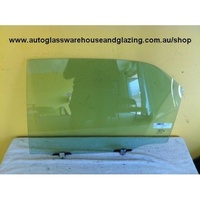 HONDA ACCORD CG - 12/1997 to 5/2003 - 4DR SEDAN - PASSENGERS - LEFT SIDE REAR DOOR GLASS