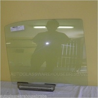 FORD LASER KN/KQ - 2/1999 to 9/2002 - 4DR SEDAN - DRIVERS - RIGHT SIDE REAR DOOR GLASS