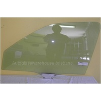 FORD MONDEO HA - 7/1995 to 1/1996 - SEDAN/WAGON/HATCH - PASSENGERS - LEFT SIDE FRONT DOOR GLASS -  2 HOLES