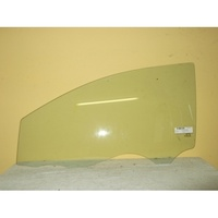 TOYOTA YARIS NCP93R - 2/2006 to 12/2016 - 4DR SEDAN - PASSENGERS - LEFT SIDE FRONT DOOR GLASS - WITH FITTING