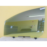 TOYOTA YARIS NCP91 - 9/2005 to 10/2011 - 5DR HATCH - PASSENGERS - LEFT SIDE FRONT DOOR GLASS