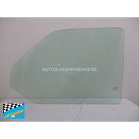 VOLKSWAGEN TRANSPORTER T4 - 11/1992 to 8/2004 - VAN - PASSENGERS - LEFT SIDE FRONT DOOR GLASS - GREEN