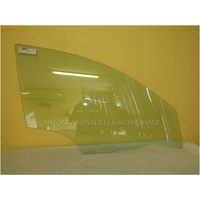 MAZDA 3 BK - 1/2004 to 6/2006 - 4DR SEDAN/5DR HATCH - RIGHT SIDE FRONT DOOR GLASS - SMALLER HOLE 11MM
