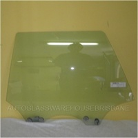 SUBARU LIBERTY/OUTBACK 3RD GEN - 10/1998 TO 8/2003 - 5DR WAGON - LEFT SIDE REAR DOOR GLASS