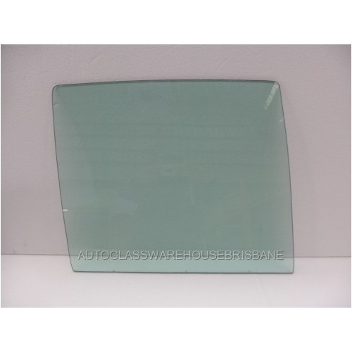 HOLDEN TORANA LH-LX - 1969 to 1974 - 4DR SEDAN - DRIVERS - RIGHT SIDE REAR DOOR GLASS - GREEN - NEW