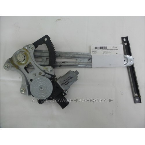 HOLDEN COLORADO RG - 6/2012 to CURRENT - 4DR DUAL CAB - RIGHT SIDE REAR WINDOW REGULATOR