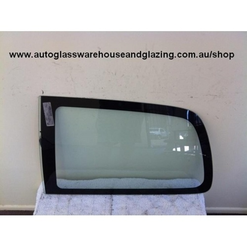 DAIHATSU CHARADE G202 - 5/1996 to 7/2000 - 3DR HATCH - PASSENGERS - LEFT SIDE OPERA GLASS