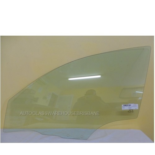 MAZDA 3 BK - 4/5DR SED/HAT 1/04>3/09 - LEFT SIDE FRONT DOOR GLASS - NEW - LARGER HOLE 12MM