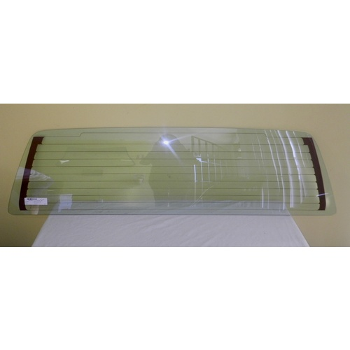 HOLDEN RODEO TF - 7/1988 to 12/2002 - UTE - REAR SCREEN GLASS - NEW - HEATED