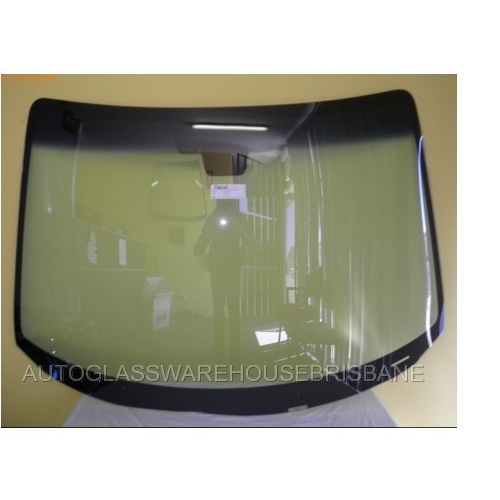MAZDA 3 BK - 1/2004 to 3/2009 - SEDAN/HATCH - FRONT WINDSCREEN GLASS - MIRROR BUTTON, MOULDING - NEW